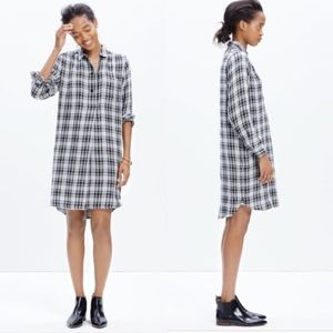 ✨ Madewell Latitude Shirt Dress in Kemp Plaid
